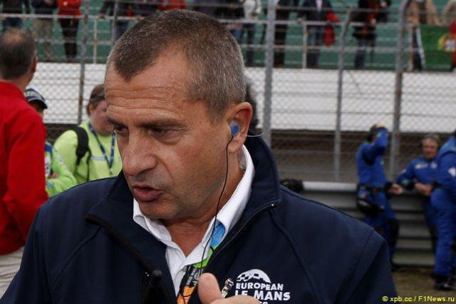 Янник Дальма – третий стюард Гран При Франции