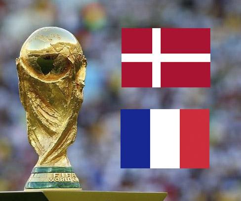 Дания - Франция: смотреть онлайн-трансляцию матча