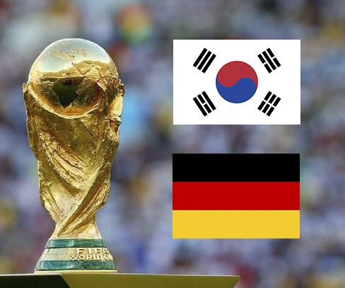 Южная Корея - Германия: смотреть онлайн-трансляцию матча