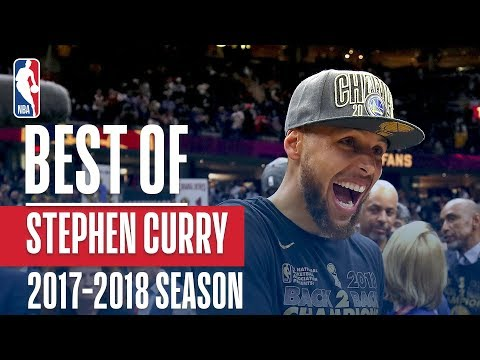 НБА представила лучшие моменты минувшего сезона с участием Стивена Карри