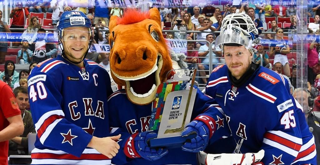 Подвиги Зернова, победа СКА и осечка чемпиона. Итоги Sochi Hockey Open