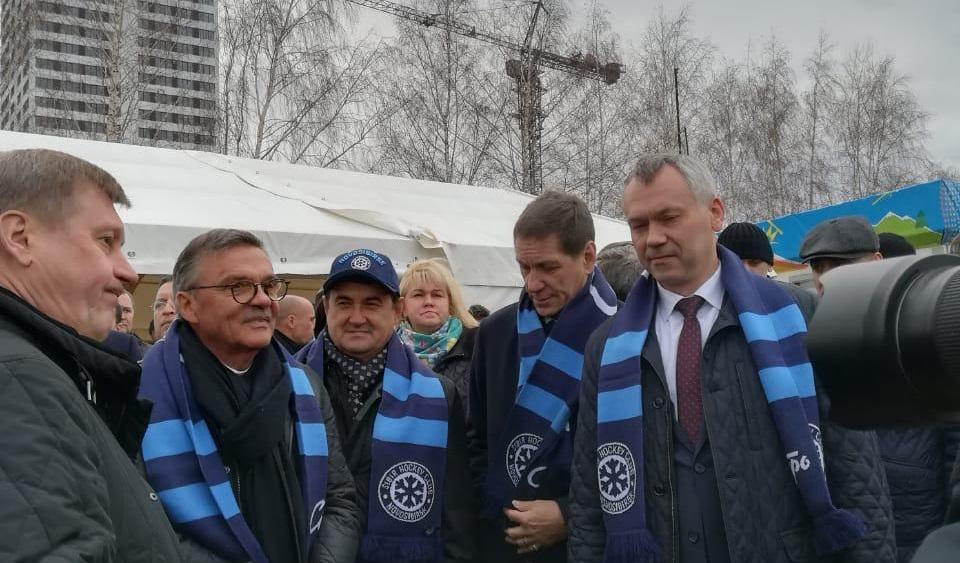 Сегодня в Новосибирске дан старт строительству новой арены