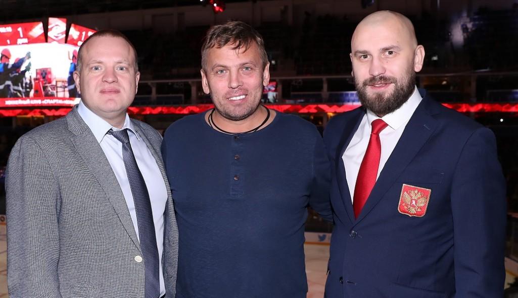 Александр Егоров: «Был очень рад оказаться снова на хоккее»