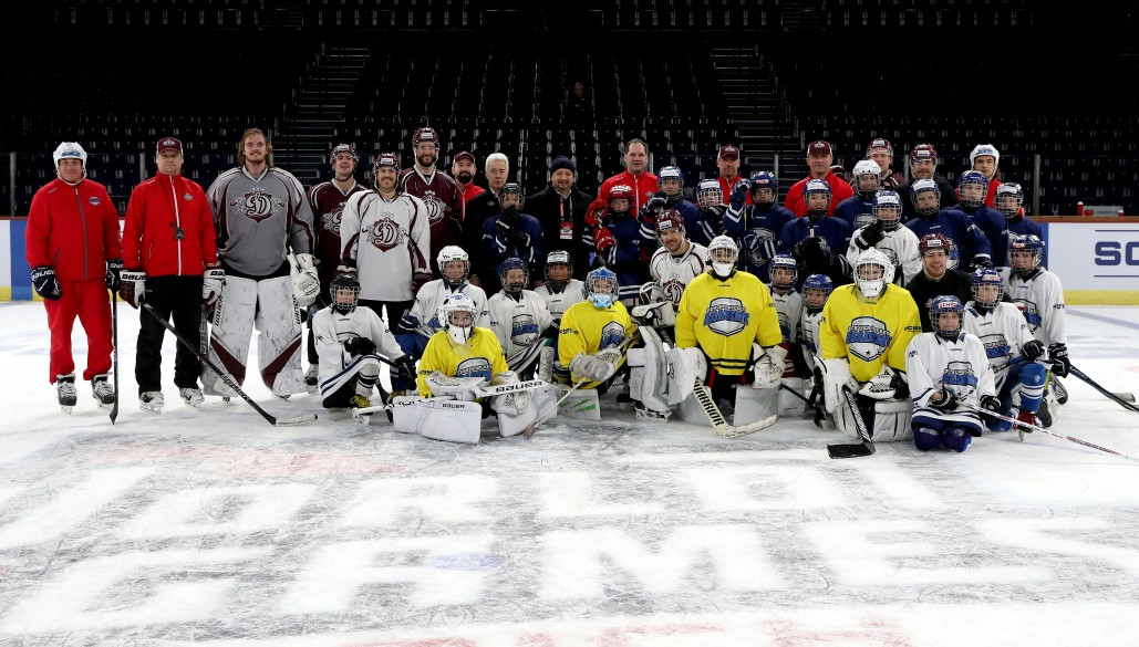 В Цюрихе игроки «Динамо» провели мастер-класс для юных хоккеистов