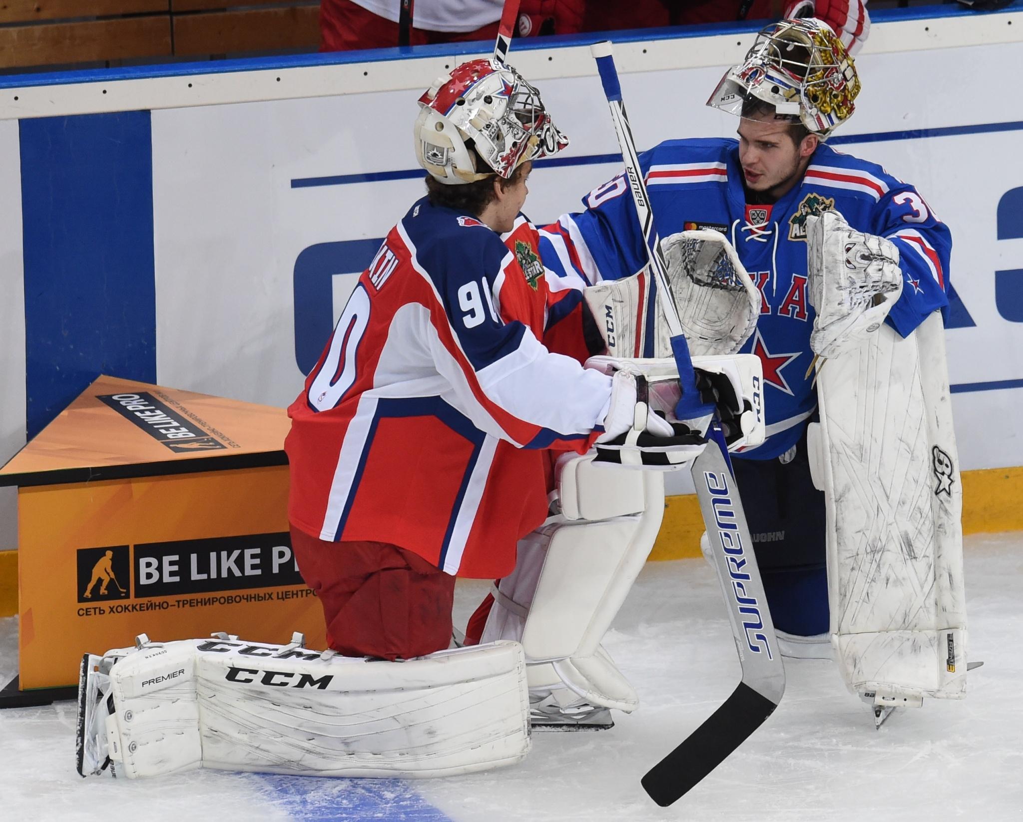 Илья Сорокин и Игорь Шестёркин. Фото: Владимир Беззубов