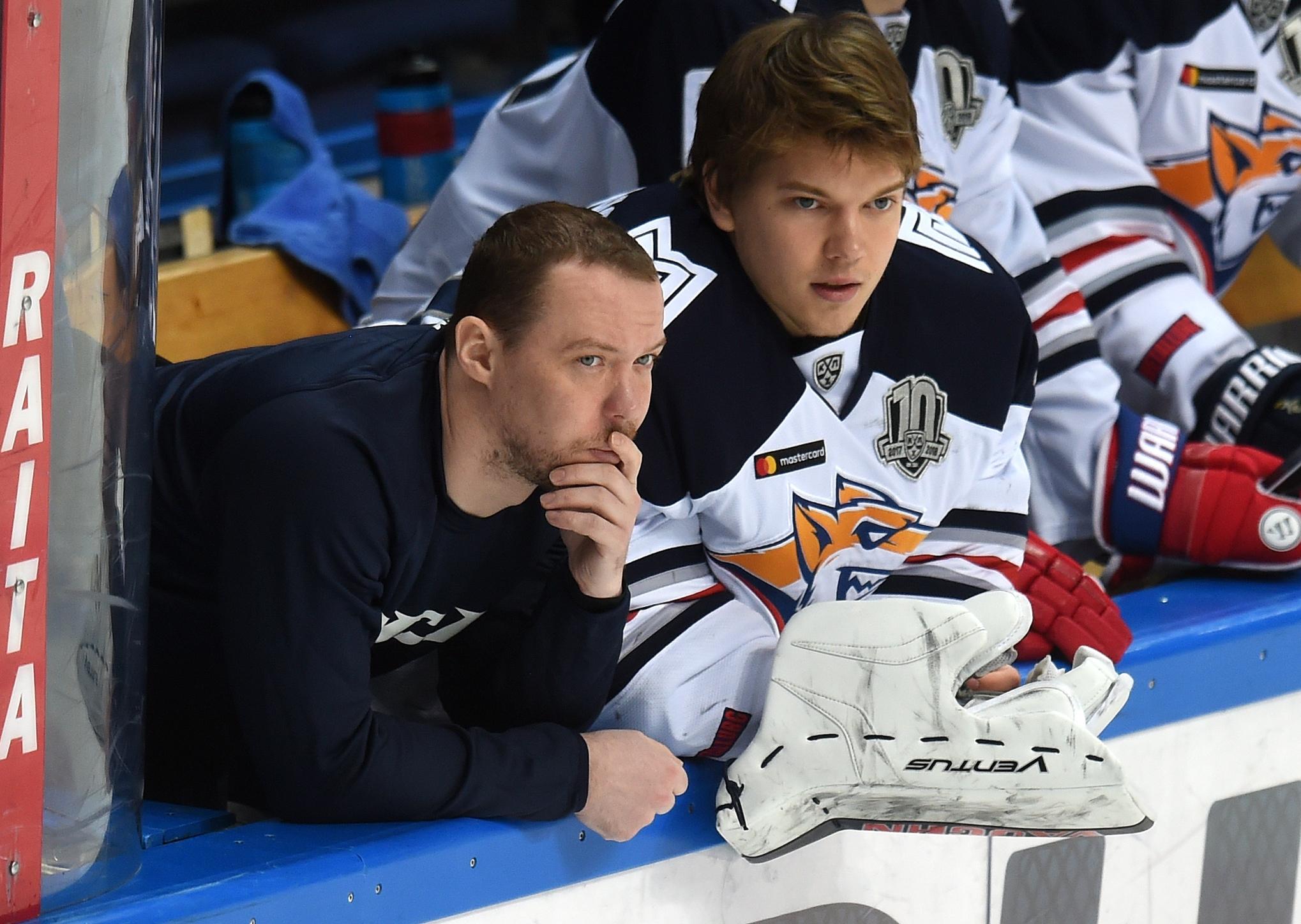 Сергей Мозякин и Василий Кошечкин. Фото: Юрий Кузьмин
