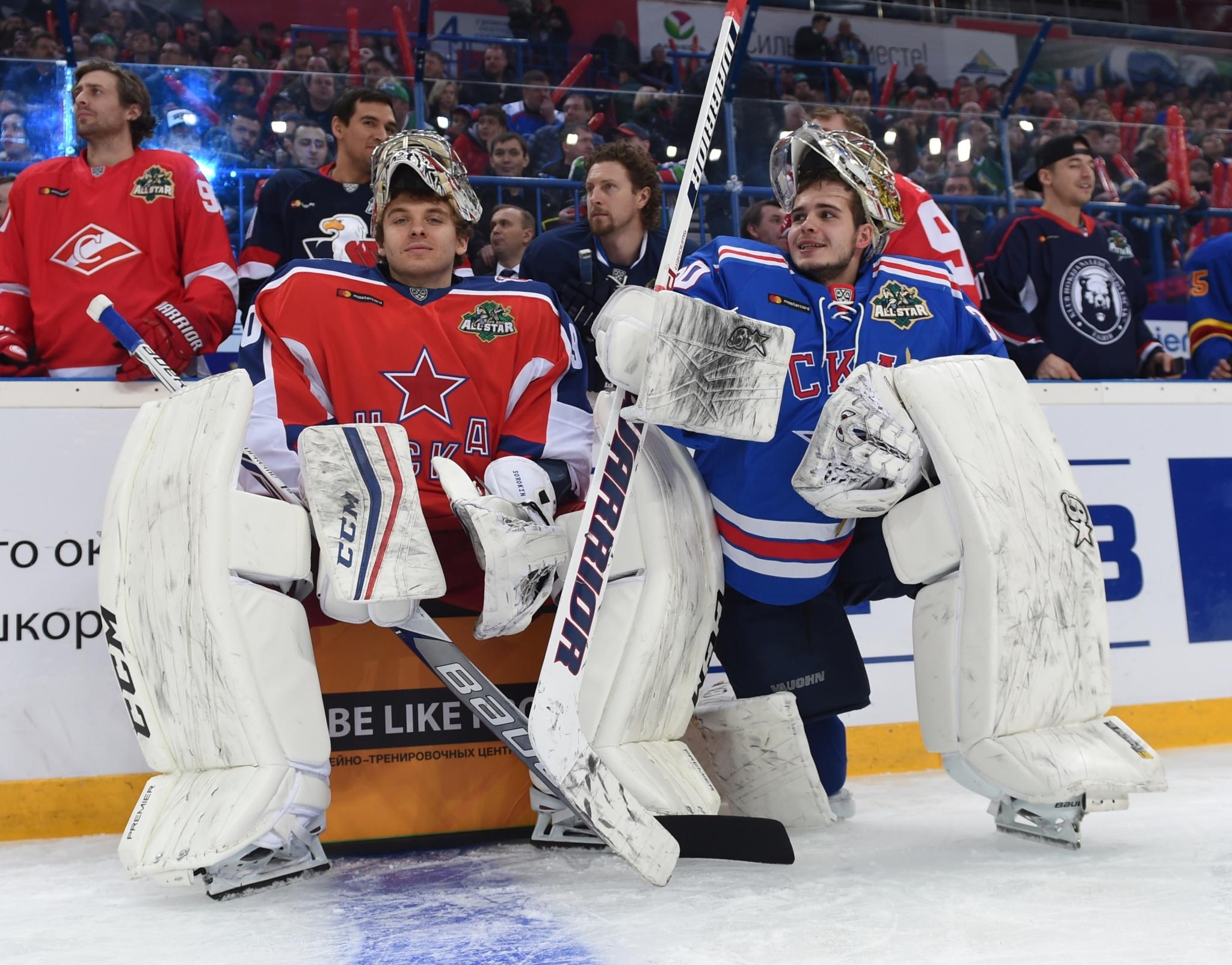 Илья Сорокин и Игорь Шестёркин. Фото: Юрий Кузьмин