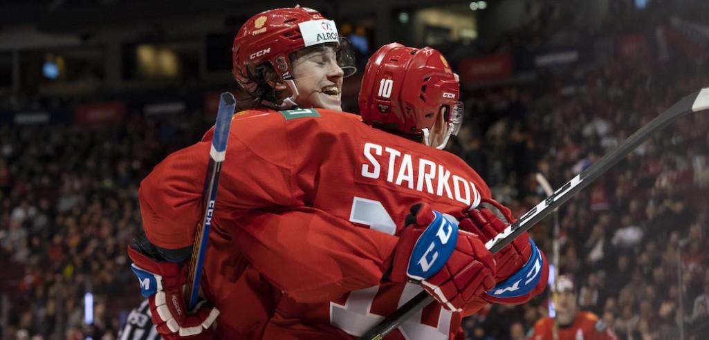 Россия разгромила Словакию и вышла в полуфинал