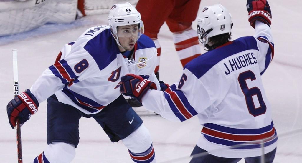 Сборная России уступает США в полуфинале МЧМ