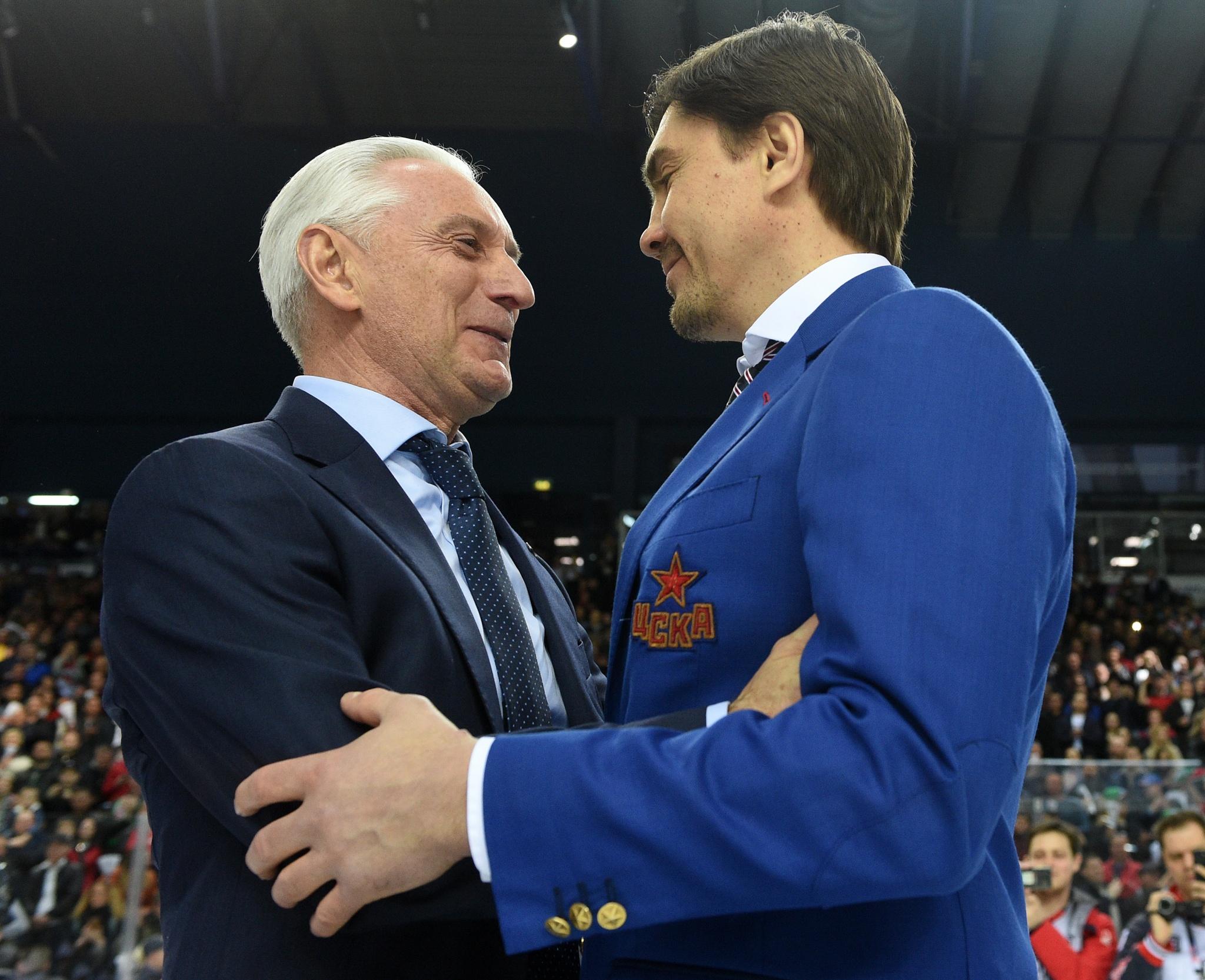 Зинэтула Билялетдинов и Игорь Никитин. Фото: Юрий Кузьмин