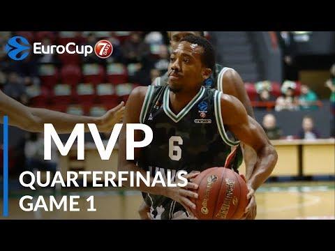 Макколлум признан MVP первых четвертьфиналов Еврокубка